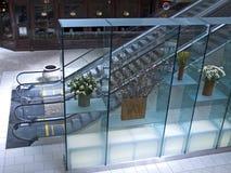 现代的购物中心 免版税库存图片
