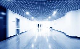 现代的走廊 库存图片