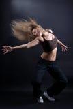 现代的跳芭蕾舞者 免版税库存图片