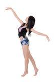 现代的跳芭蕾舞者 库存照片