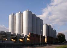 现代的酿酒厂 免版税库存照片