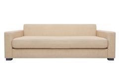 现代的长沙发完全 库存图片