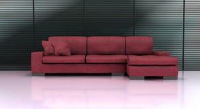 现代的长沙发 库存照片