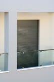 现代的阳台 免版税库存照片
