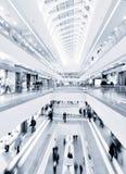 现代的购物中心 免版税库存照片