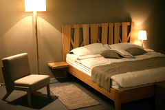 现代的badroom 免版税库存照片