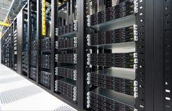 现代的datacenter 免版税库存照片