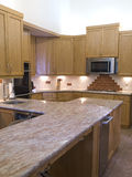 现代的kitchen703 免版税库存照片