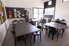现代科学教室在一所小学 免版税库存图片