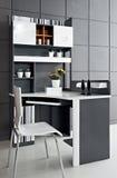 现代空间家具 库存照片