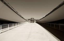 现代结构上的沙漠 免版税图库摄影
