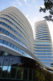 现代结构办公楼在格罗宁根 库存图片