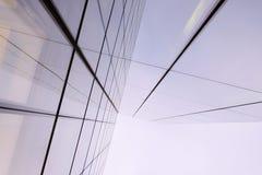 现代结构在伦敦 库存图片