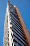 现代结构大厦在巴塞罗那 库存照片