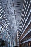 现代结构的商业 免版税库存照片