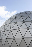 现代结构的圆顶 免版税图库摄影