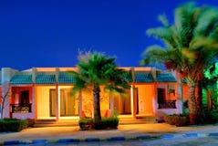 现代结构的旅馆 图库摄影