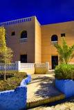 现代结构的旅馆 库存照片