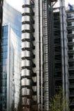 现代结构的设计 免版税库存图片