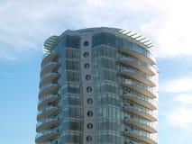 现代结构的高层 免版税库存图片