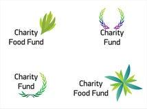 现代美好的慈善资金的徽标 库存图片