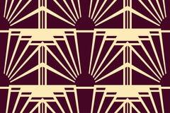 现代美术Deco背景 皇族释放例证