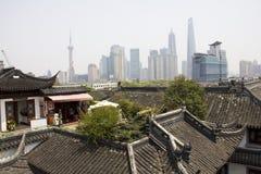现代老上海 免版税图库摄影