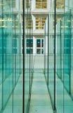 现代背景的玻璃 图库摄影