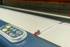 现代自动纺丝机 库存图片