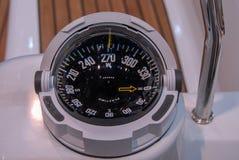 现代船指南针 库存照片