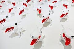 现代艺术在工厂798艺术区域,北京 免版税库存照片