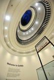 现代艺术画廊的圆屋顶在格拉斯哥 免版税库存图片