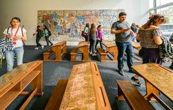 现代艺术节日创作在布加勒斯特 免版税库存图片