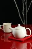 现代茶 库存图片