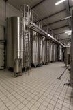 现代葡萄酒酿造 免版税库存照片