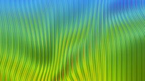 现代蓝绿黄色明亮的背景 免版税库存图片