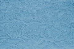 现代蓝色鞋带纹理 设计师背景 库存图片