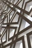 现代装饰品墙壁设计在清真寺 库存图片