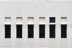 现代视窗的模式 库存图片