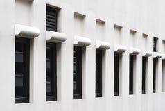 现代视窗的模式 免版税库存照片