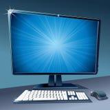 现代计算机 图库摄影