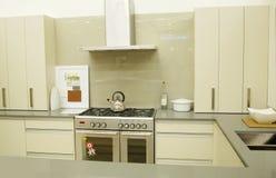 现代设计员的厨房 图库摄影