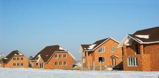现代设计的房子 免版税库存图片