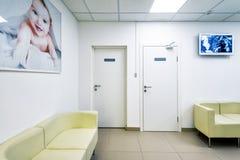 现代诊所内部 库存照片
