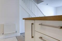 现代详细资料的厨房 免版税库存照片