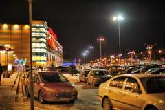 现代购物中心`大峡谷`在晚上 免版税库存照片