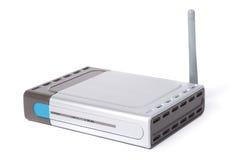 现代路由器wifi 免版税图库摄影