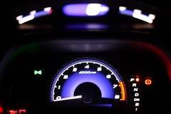 现代车速表 库存图片