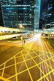 现代都市城市 免版税库存图片