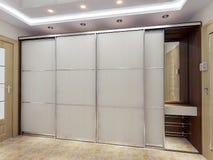 现代门厅设计想法, 3D回报 皇族释放例证